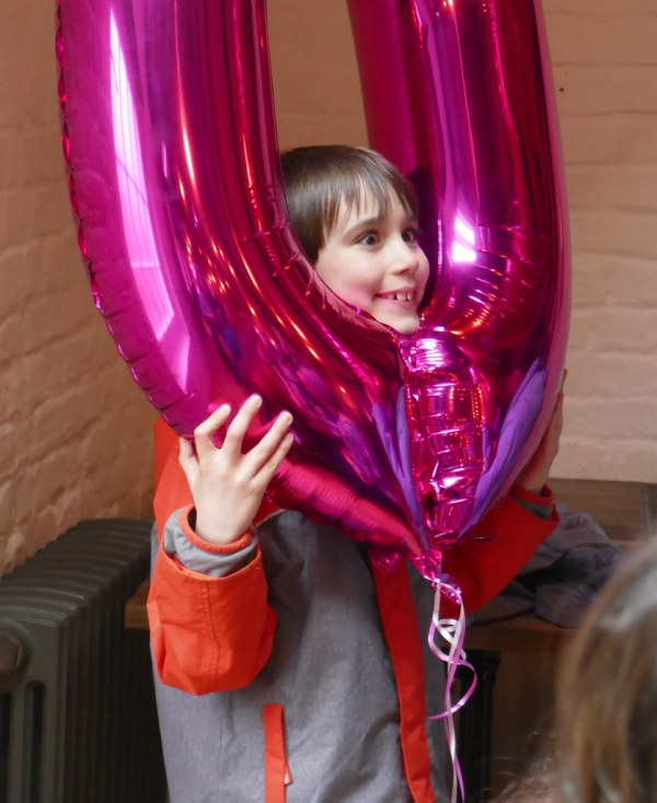 Crazy Balloon Boy Henry Burrows