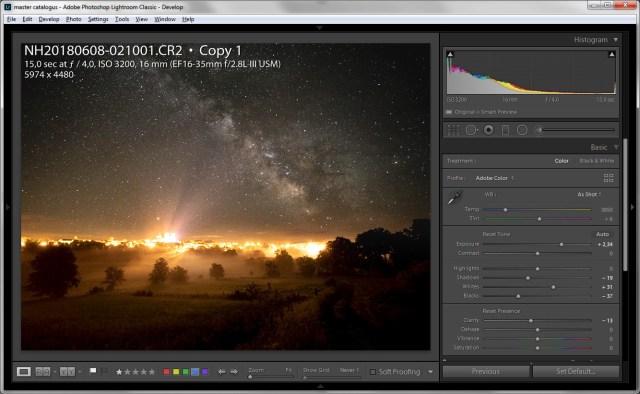 Een kopie van de ISO3200 foto waarbij de hoge lichten niet zo sterk verminderd zijn. Wederom teneinde het verloop van licht naar donker zo natuurlijk mogelijk te maken.
