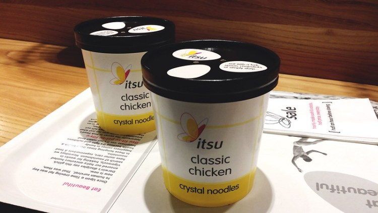 Classic chicken crystal noodle soups from Its | Gluten free Shoreditch guide | Gluten free London | Brick Lane | Old Street | Spitalfields | Hoxton | East London