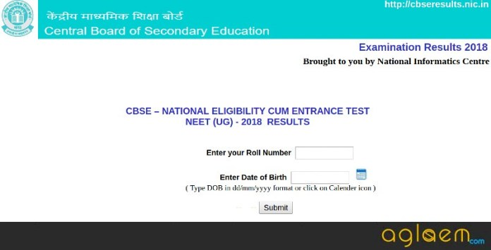 NEET 2018 Result (Announced)   Check Here NEET Merit List, Cutoff, Counselling