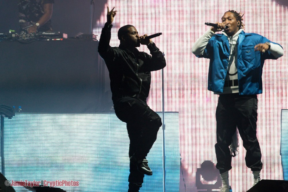 Future and A$AP Ferg performing at Fvded in the Park at Holland Park in Surrey, BC on July 7th, 2018