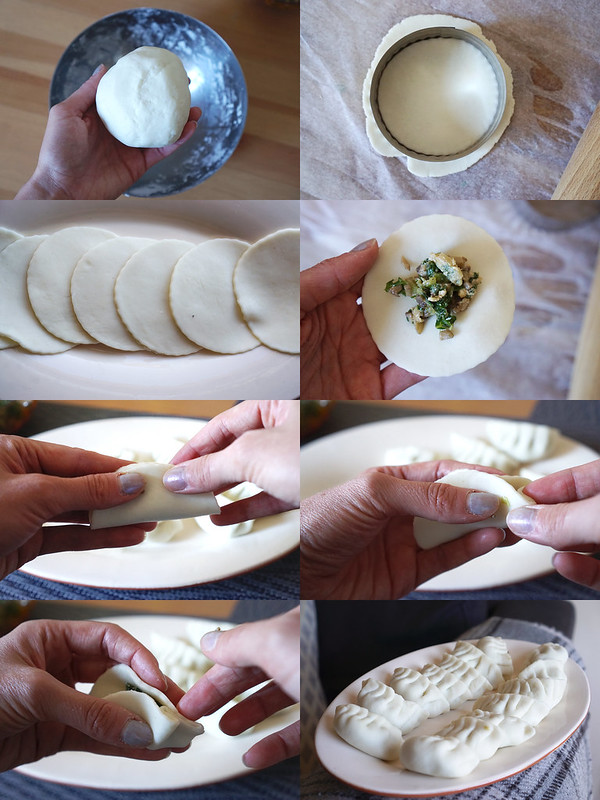 RECIPE: gluten free dumpling wrappers made from scratch with glutinous rice flour and Schar Mix It Universal gluten free flour blend - making process | gluten free dumplings | gluten free gyoza | gluten free Chinese recipes | gluten free Japanese recipes | gluten free potsickers