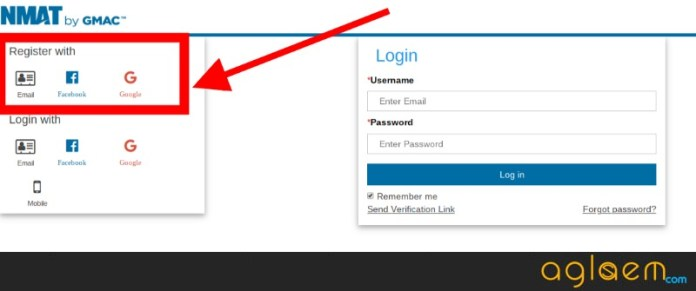 NMAT Registration last date