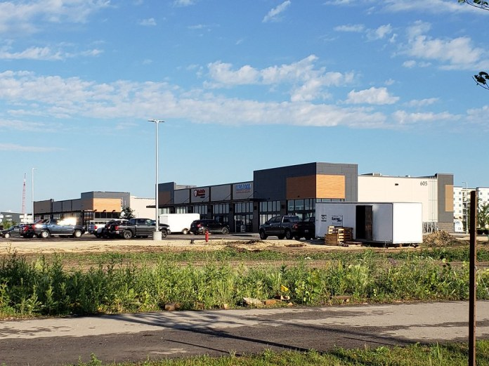 PHOTO: Future Site of Winnipeg's Popeyes Chicken Nearing Completion