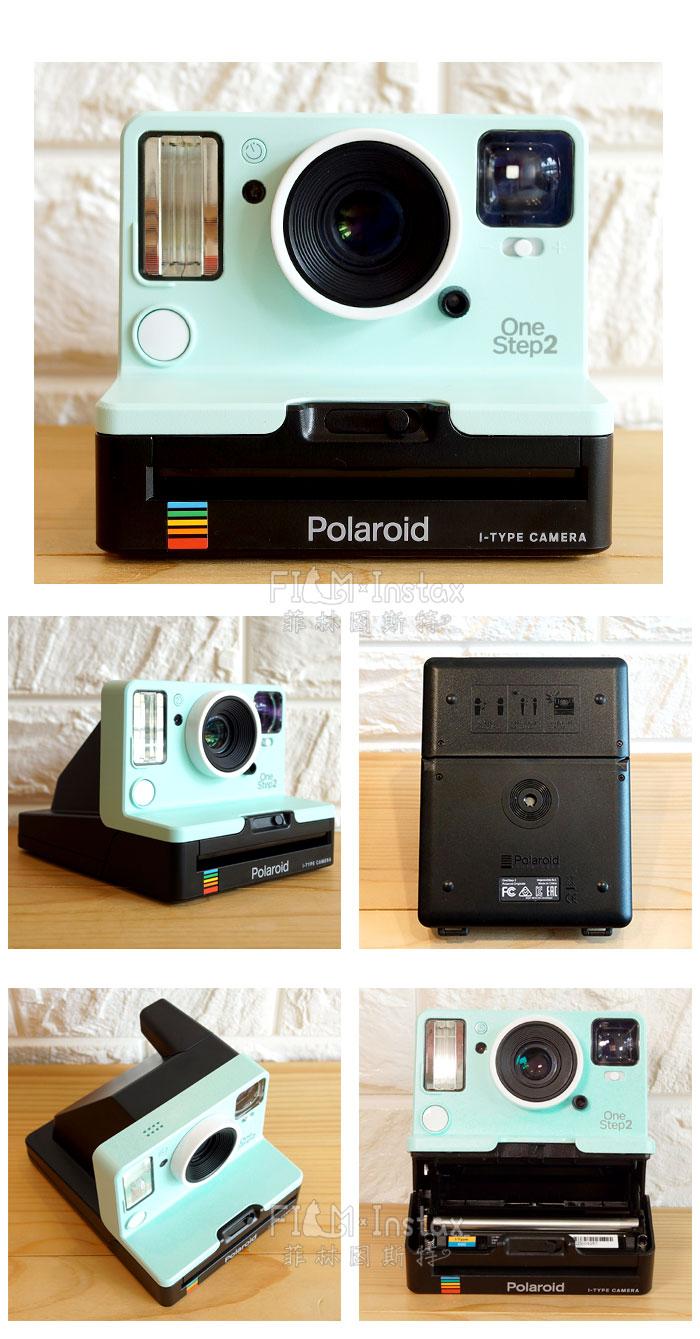 【全臺限量】Polaroid 寶麗萊 OneStep 2 薄荷綠 拍立得相機 新款觀景窗 | 菲林因斯特-拍立得卡通文具