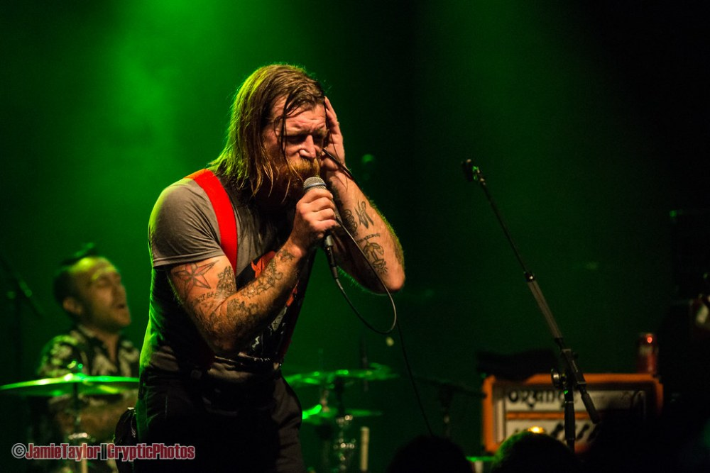 Jesse Hughes of Eagles Of Death Metal performing at The Commodore Ballroom in vancouver, BC on August 4th 2018