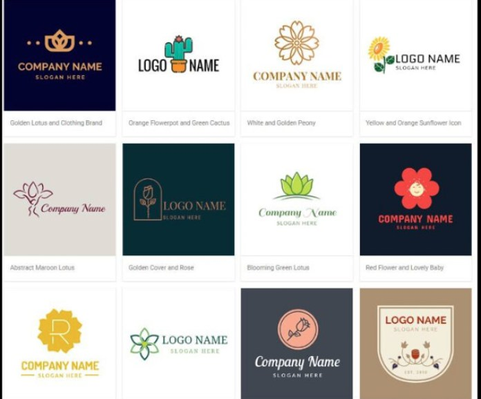 free logo design and template free