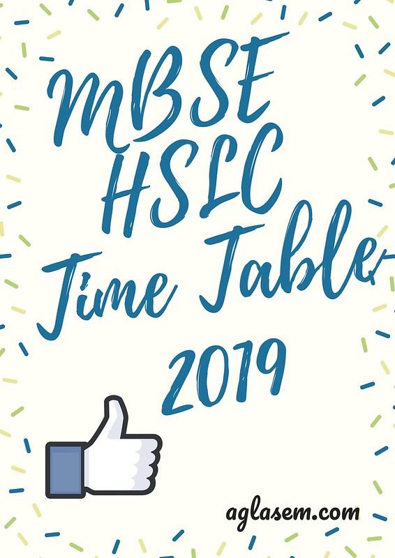 MBSE HSLC Routine 2019