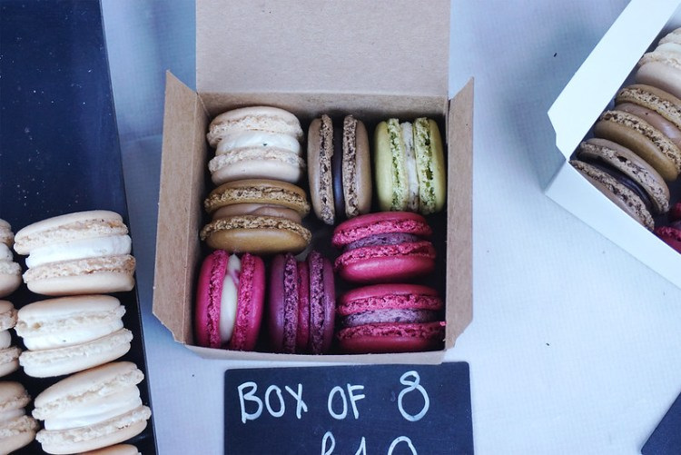 Gluten free Giselle Richardson Macarons in Old SPitalfields Market | Gluten free Shoreditch guide | Gluten free London | East London | Brick Lane | Hoxton |