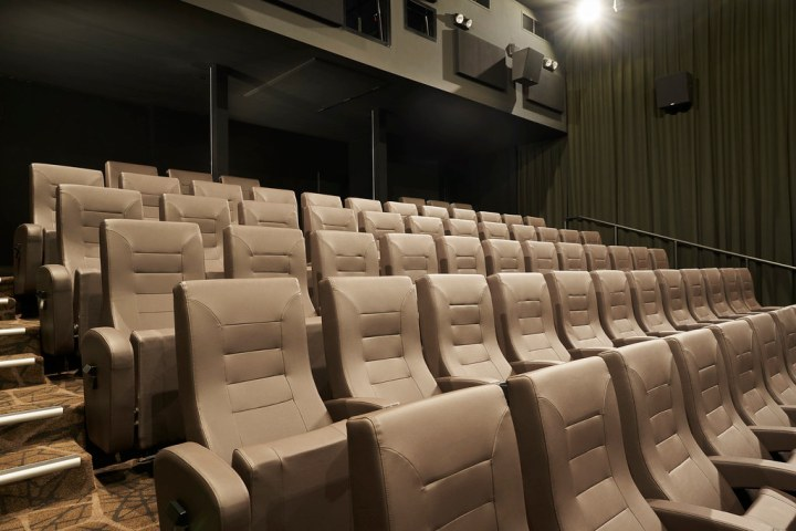 The cinema seats at GV Bedok are fully upholstered in leatherette. Photo: Golden Village