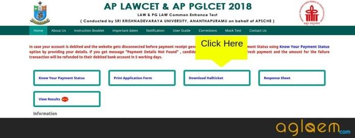 AP LAWCET 2019 Admit Card  %Post Title | AglaSem