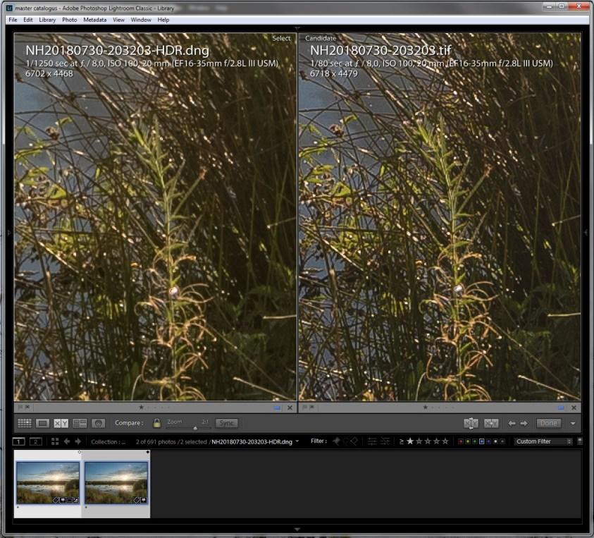 HDR verschil tussen Lightroom en Photoshop