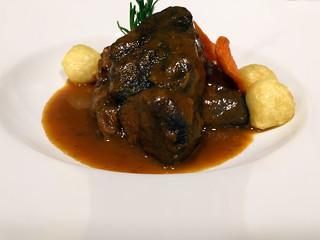 Xarrete a la galega o Jarrete a la gallega. Chef Koketo