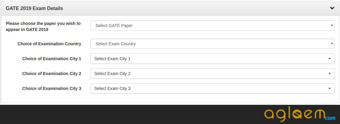 GATE 2019 Application Form (Extended), Last Date, Fee