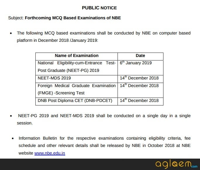 FMGE 2019   Result (Announced), Eligibility, Syllabus, Exam Pattern