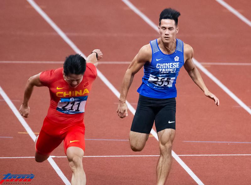 亞運100公尺第5作收 楊俊瀚遺憾沒突破自己