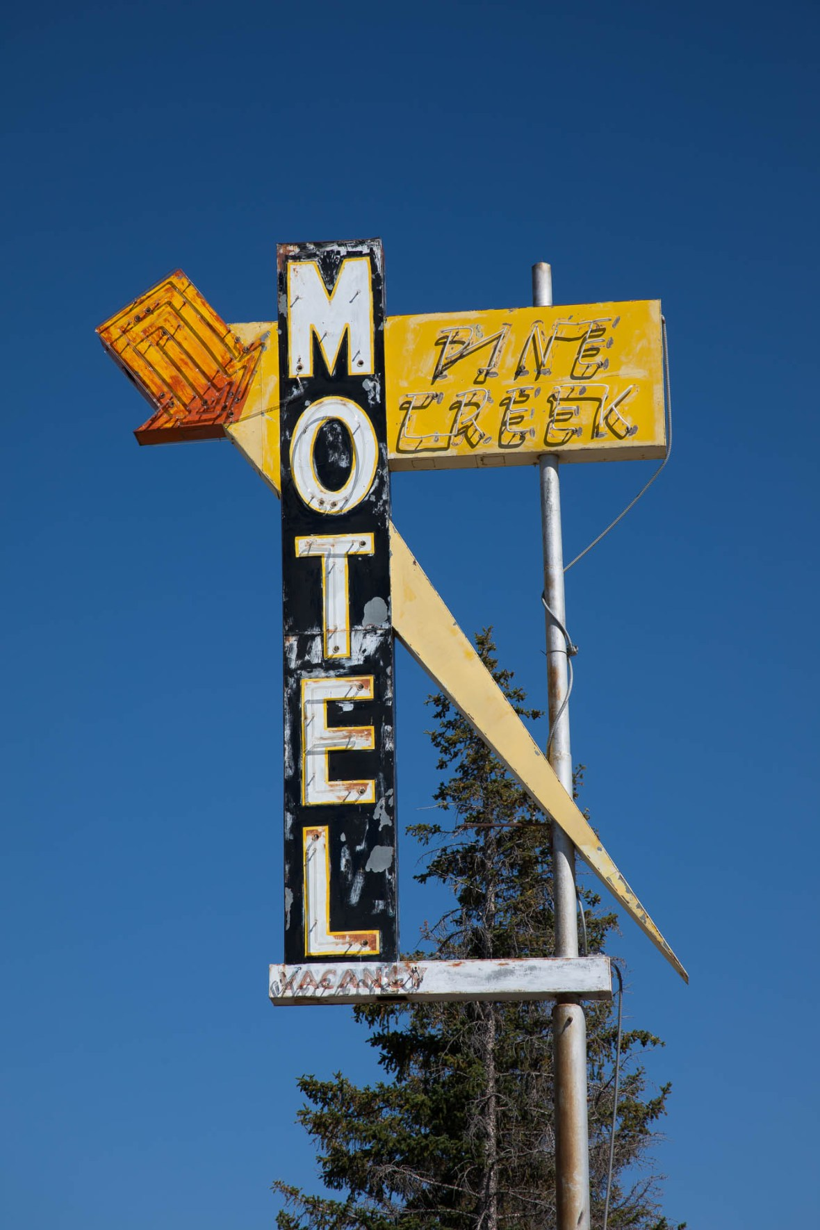 Pine Creek Motel - Pinedale, Wyoming U.S.A. - August 29, 2018