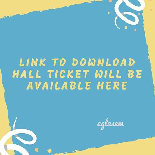 GSEB Hall Ticket 2019