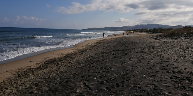La spiaggia di Marina di Sorso