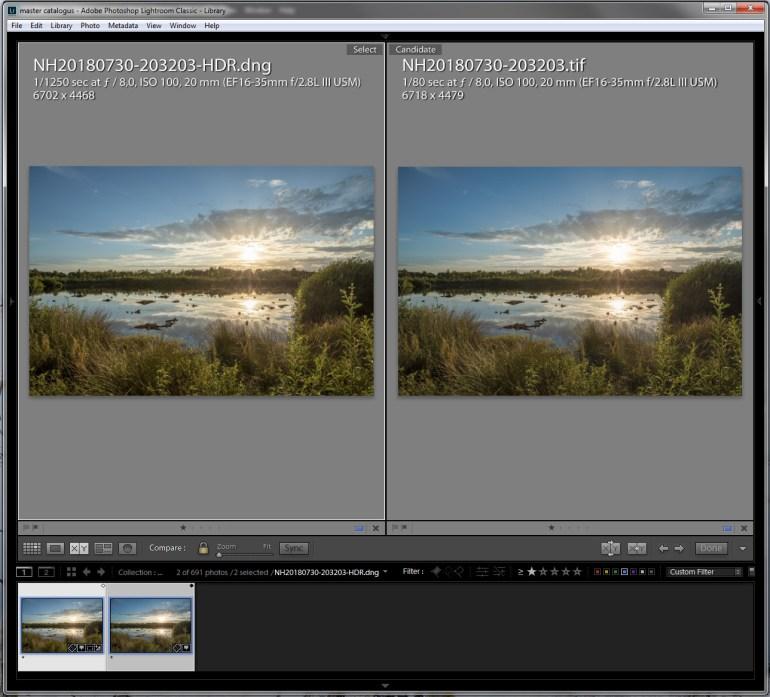 HDR verschil via Lightoom en Photohsop