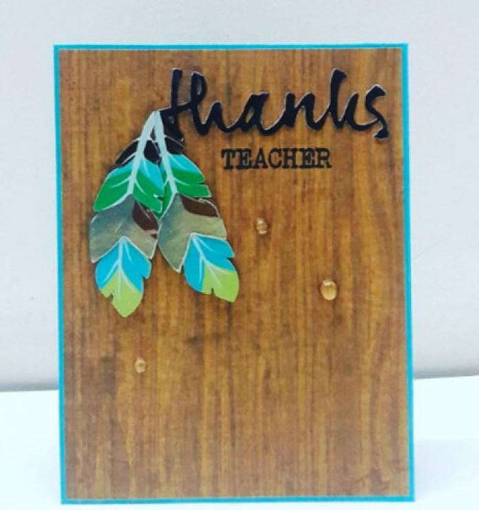 ideas for handmade cards for teachers day