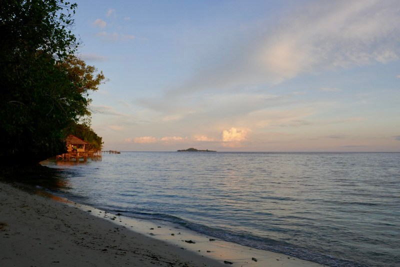 Sunset at Warimpurem Homestay, Waigeo, West Papua