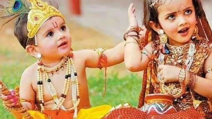 how to make lord krishna dress at home