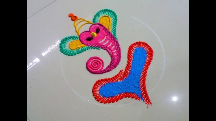 special ganesh chaturthi rangoli designs