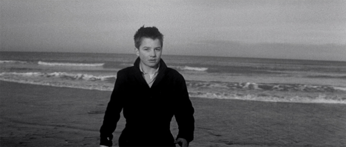 Fotograma final de Los 400 Golpes (1959)