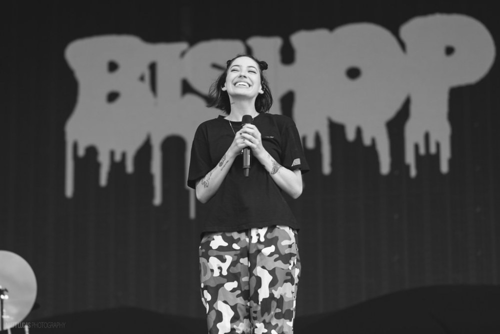 Bishop Briggs performing at Austin City Limits Music Festival 2018 at Zilker Metropolitan Park in Austin, Texas on October 5th-7th, 2018