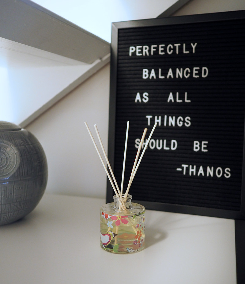 thanos quote balanced home
