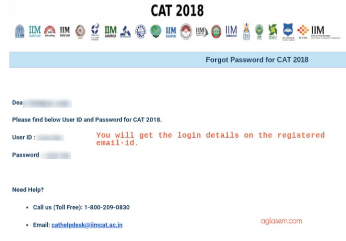 cat 2019 login