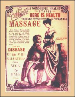 El tratamiento de la histeria femenina consistía en alcanzar el orgasmo con la ayuda del vibrador.