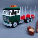 Moc Vintage Truck Volvo F88 Timber Transport Lego Town Eurobricks Forums