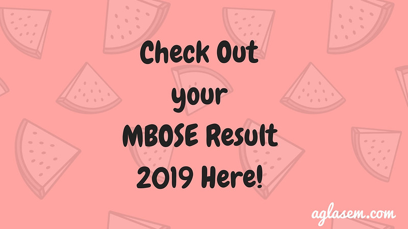 MBOSE Result 2019