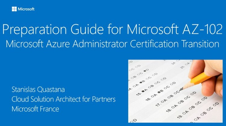 Preparation Guide for Microsoft AZ-102 Microsoft Azure Administrator