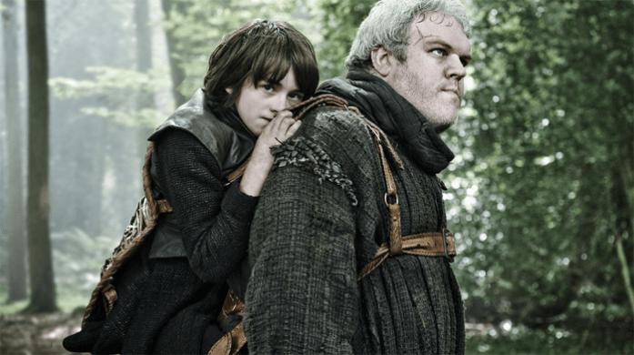 Hodor y Bran, de Juego de Tronos