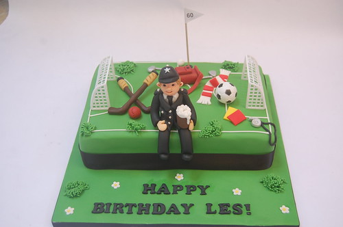 Sporty Policeman S Cake Beautiful Birthday Cakes