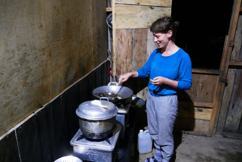 Cooking with Christine at Warimpurem Homestay