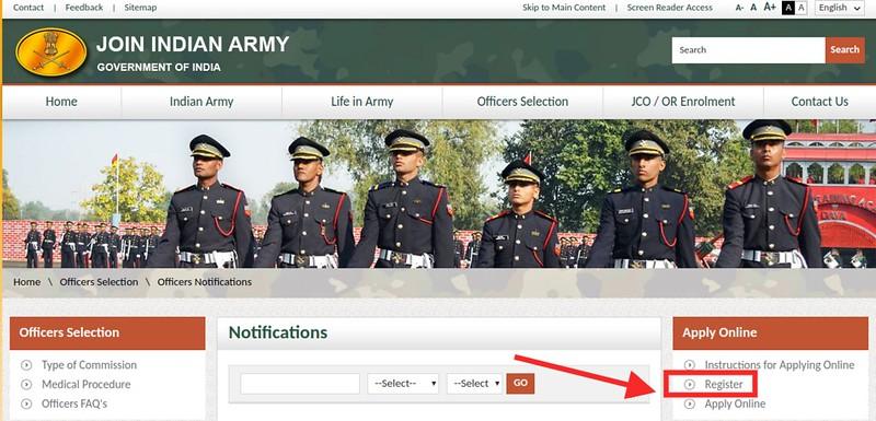 Indian Army TGC 129 Application Form