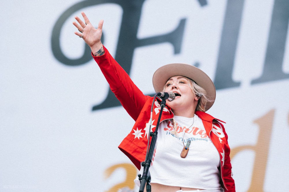 Elle King performing at Austin City Limits Music Festival 2018 at Zilker Metropolitan Park in Austin, Texas on October 5th-7th, 2018