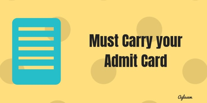 Assam Board Admit Card 2019