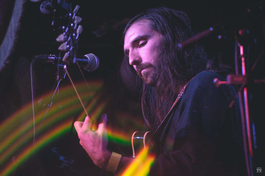 Music band Mutual Benefit performing at Empire Music Hall in belfast, ireland, on October 22nd, 2018