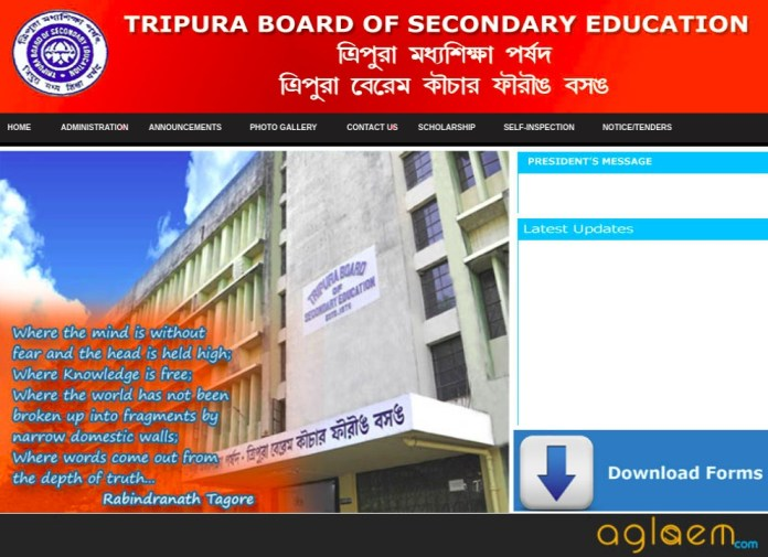 TBSE Admit Card 2019