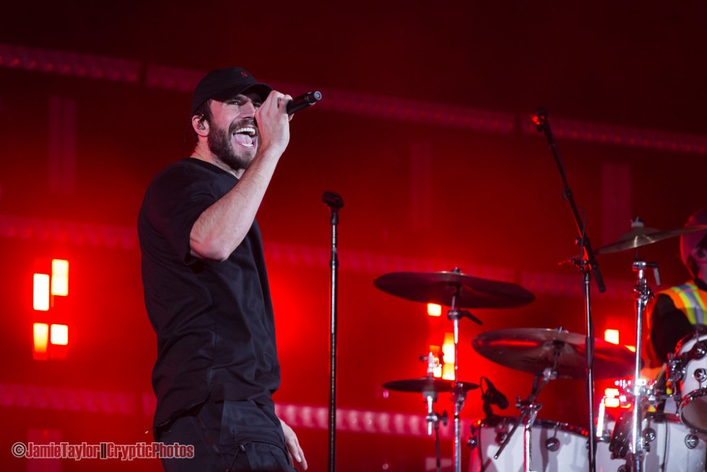 Country musician Sam Hunt performing at BC Place Stadium in Vancouver, BC on October 13th, 2018