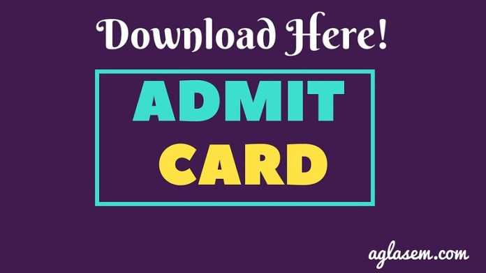Rajasthan Board Admit Card 2019
