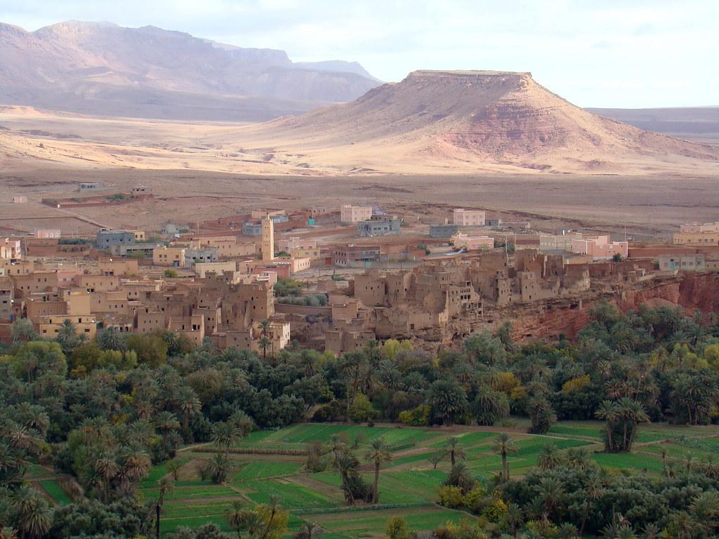 Pueblo Garganta del Dades Marruecos 23