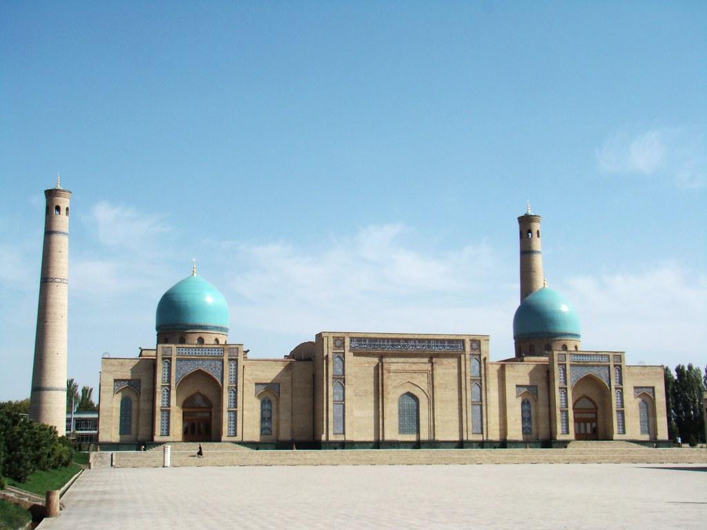 Tashkent Mezquita Khazrati Imam Uzbekistan 07