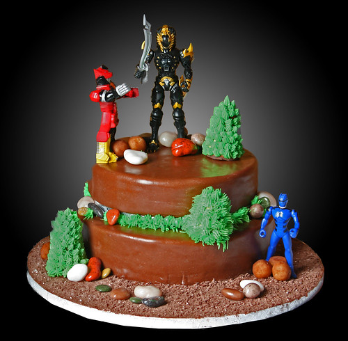 Birthday Cake Theme Power Ranger Flickr Photo Sharing