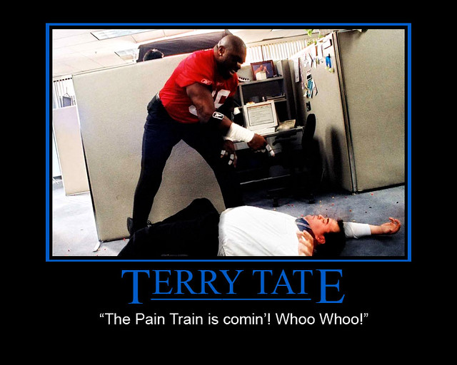 Terry Tate Office Linebacker Demotivational  I couldnt